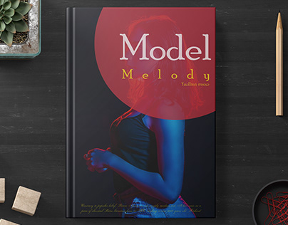 BOOK COVER (Model_Melody)
