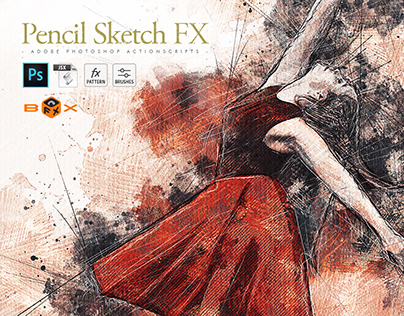 Pencil Sketch FX - Photoshop Add-on