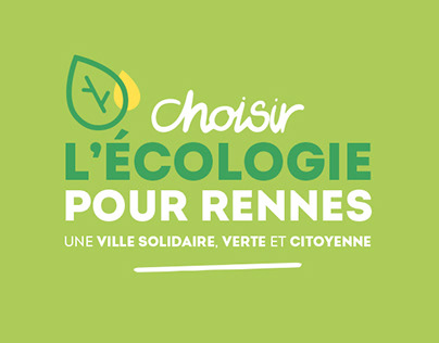 Choisir l'écologie pour Rennes