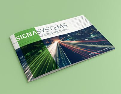 SignaSystems Katalog Tasarımı