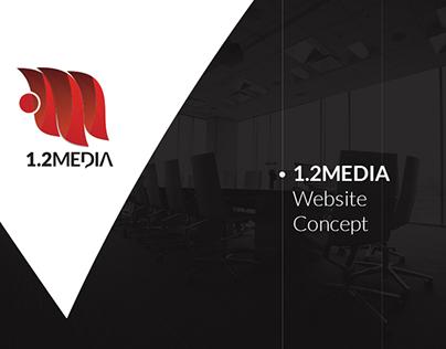 1.2MEDIA Website Concept