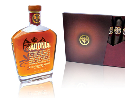 ADONIA Greek Honey Whiskey and Cigar pairing
