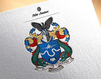 Coat of Arms B. Richard-Air Charter Service
