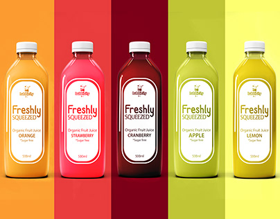 Juice Bottle Labeling