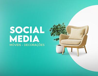 Móveis e Decorações - Social Media