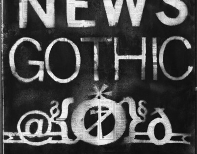 News Gothic Type Sampler