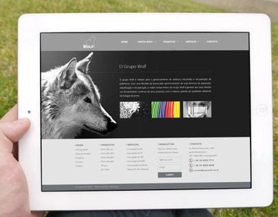 Website Grupo Wolf