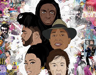 Maverick Artists Illustrations