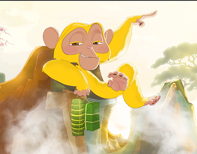 (animation) Year of the Monkey