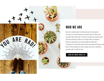 Branding- Radical Wellness Collective