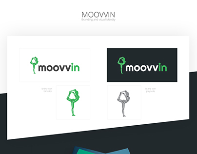 MOOVVIN - Branding and visual identity