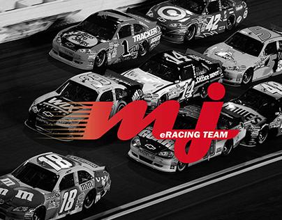 MJ eSports Racing Team logo & branding