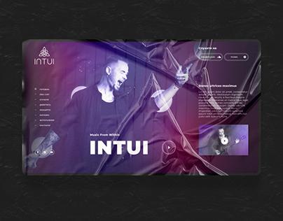 INTUI music band corporate website