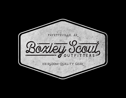 Boxley Scout Outfitters Logo Design