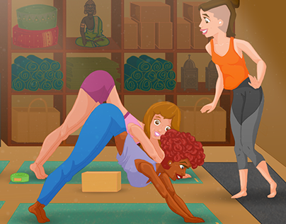YogaStudio - Illustration