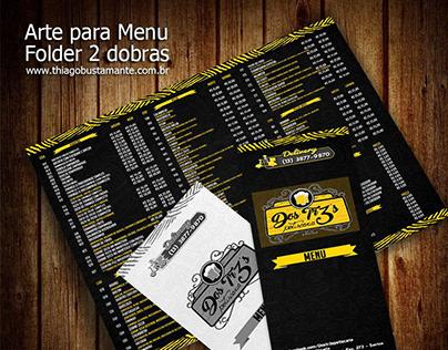 Restaurant Menu Folder