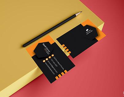 Business card, business card design