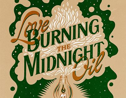 Midnight Oil Poster