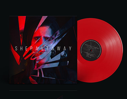 She Past Away - Disko Anksiyete // LP & CD Cover Design