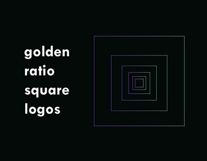 Golden Ratio Square Logos