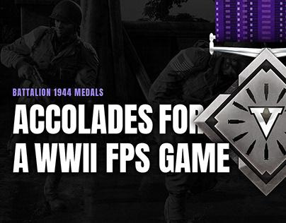 WW2 Medal Design for Battalion 1944