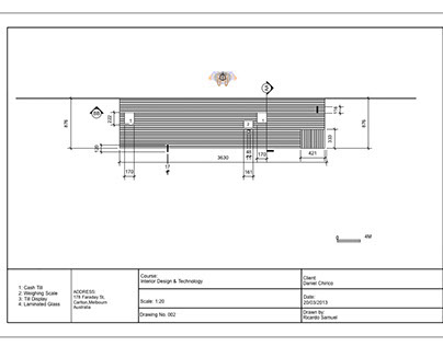 Bakery Orthographic Drawings