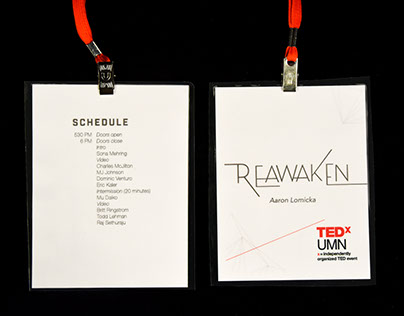 TEDxUMN REAWAKEN 2016 Branding and Stage Design