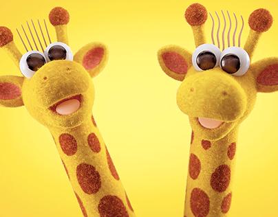 Giraffas Making Of