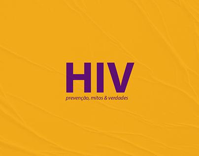 HIV: Prevenção, Mitos & Verdades