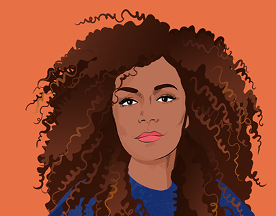 Janet Mock ✊🏽 - Animated portrait
