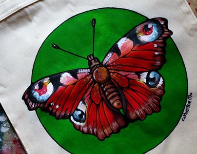 Rusałka pawik- torba ekologiczna
