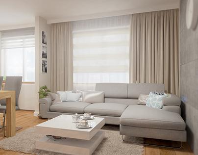 Przytulne mieszkanie - Lubin