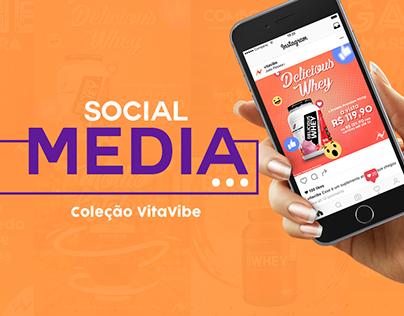 Social Media: Coleção VitaVibe