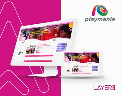 E-commerce Playmania