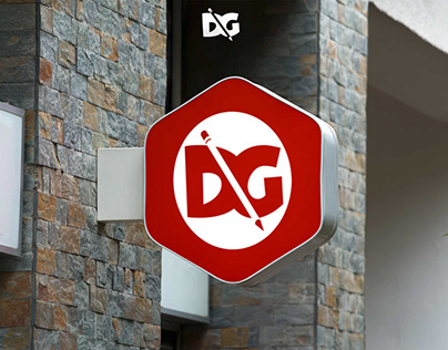 Wall PSD Banner Logo Mockup