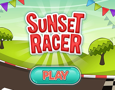 Racing game for kids. Tablet and mobile - Game design