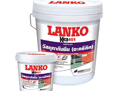 Vật liệu chống thấm hoàn hảo gốc Acrylic: LANKO 451 K10