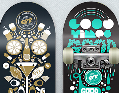 Skateboard Mock Up