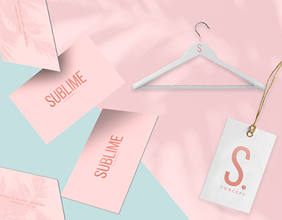 SUBLIME STORE | VISUAL IDENTITY