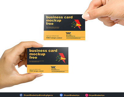 Free PSD - Business Card