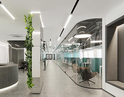 Development company office