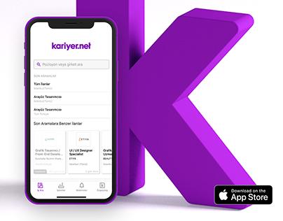 Kariyer.net / iOS, Android App / Branding