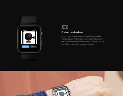 Retail App Concept | Apple Watch