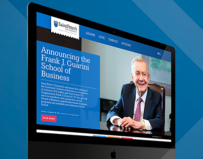 St. Peter's University — School of Business Campaign