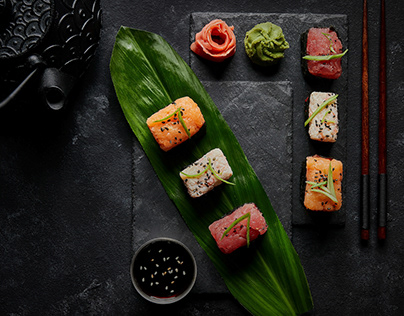 Sushi Town Menu