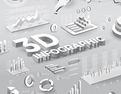 3D Infographics Elements