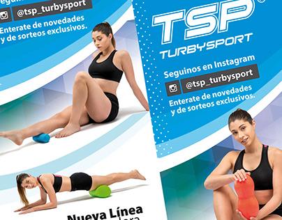 TSP TurbySport Banners