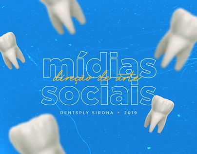 Mídias Sociais - Direção de Arte DENTSPLY SIRONA