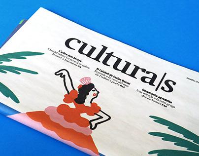 Cultura/s, La vanguardia. 'Spain and the tourism boom'