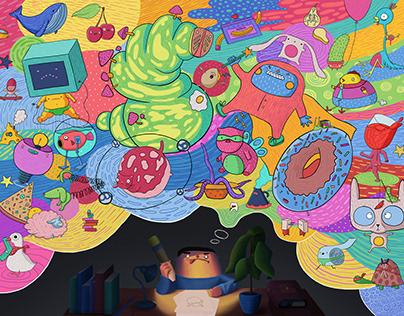 From illustration to animation_linoleumfestival_2019